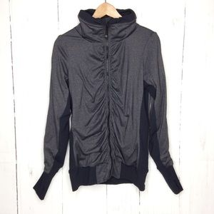 Lululemon Full Zipper Grey Jacket Sweater